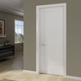 1-Panel Door, Kimberly Bay® Interior Slab Shaker White