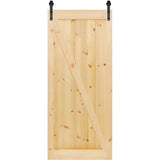 Barn Door Z-Rail Unfinished Solid Pine Kimberly Bay®
