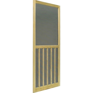 Screen Door Wood ACQ Treated 5-Bar Stainable