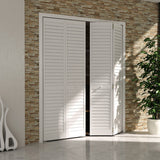 Closet Door, Bi-fold, Kimberly Bay® Plantation Louver-Louver White