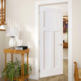 1+2 Panel Door, Kimberly Bay® Interior Slab Shaker White