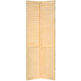 Closet Door, Bi-fold, Kimberly Bay® Plantation Louver-Panel Clear