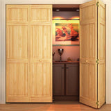 Closet Door, Bi-fold, Kimberly Bay® Traditional Six Panel Clear
