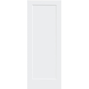 Shaker 1 Panel Solid Core White Interior Door Slab