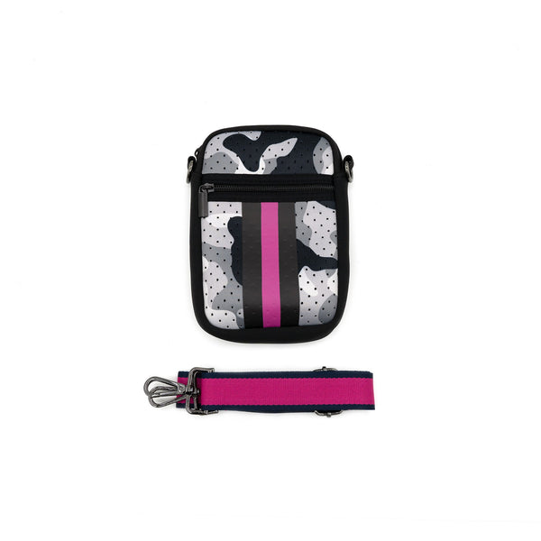 NEOPRENE CELL PHONE CROSSBODY