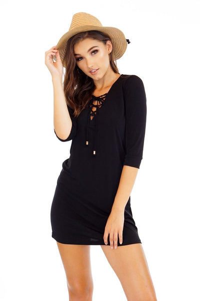Classic Black Criss Cross Dress