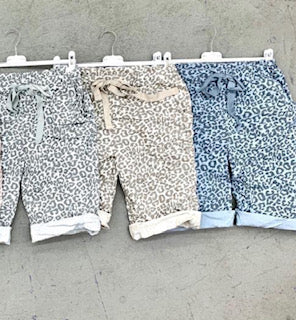 LEOPARD SHORTS FROM ITALY