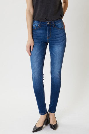 Kan Can Mid Rise Skinny Jean