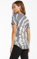 THE LIPA SPIRAL TIE-DYE TEE SHIRT