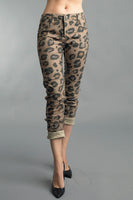 Reversible Animal Print Pants from Tempo Paris