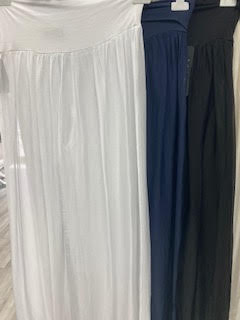 WASHABLE SILK PANTS FROM ITALY