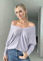 TRIBECA LONG SLEEVE TOP