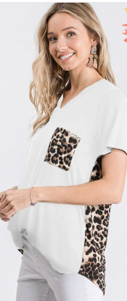 Leopard Pocket Tshirt