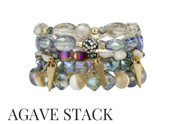 AGAVE ERIMISH STACKABLE SET