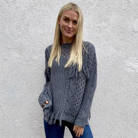 SIX FIFTY TASSLE SWEATER