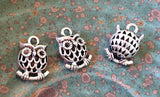 5 3D Owl Charm Wholesale supply