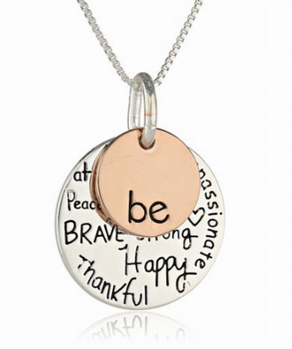 be graffiti necklace