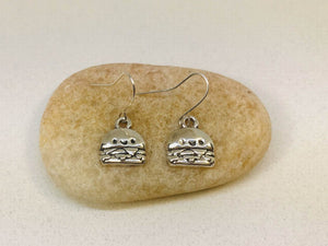 Hanburger Earrings Fastfood Jewelry