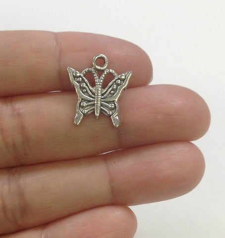 15 Butterfly Charm wholesale