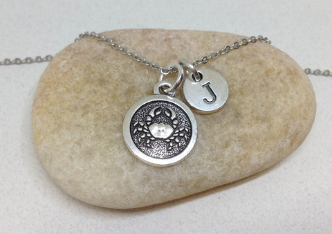 Cancer Charm Horoscope Necklace