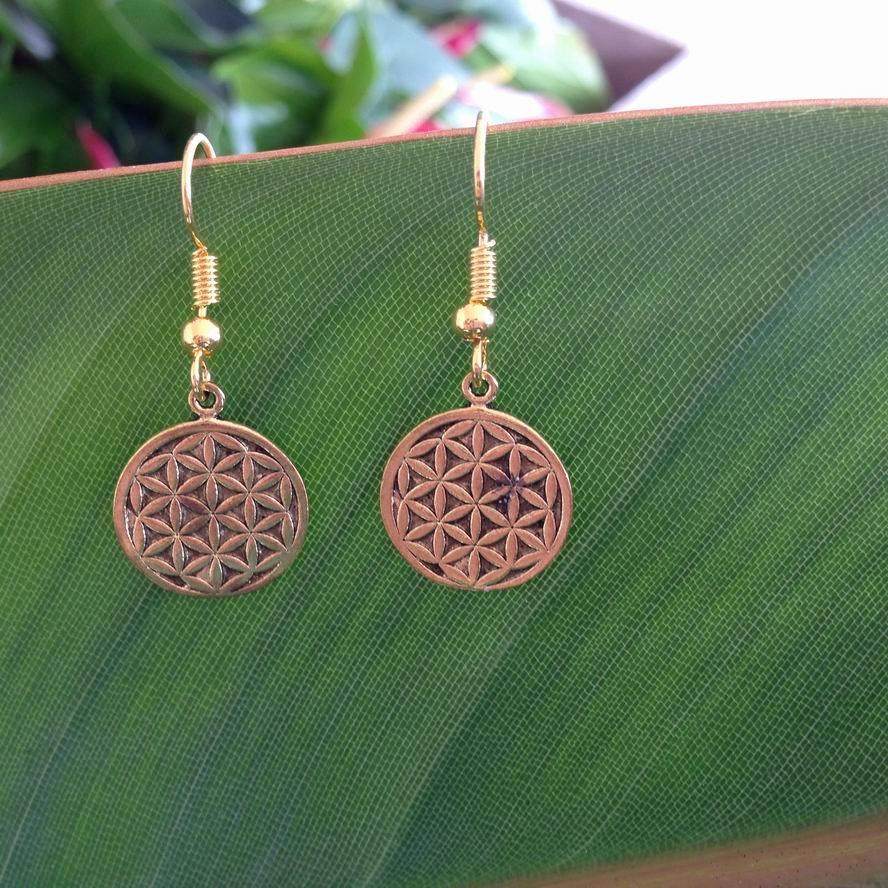 Flower Of Life Earrings