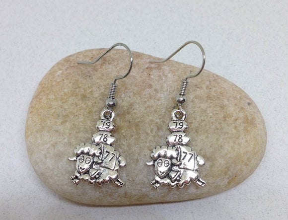 Wholesale Counting Sheep Earrings