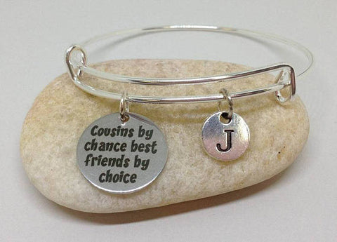 cousin charm bangle bracelet