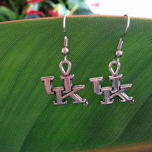 UK Wildcats charm Earrings
