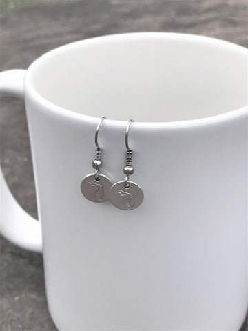 Custom Florida Map Earrings -50 states Available