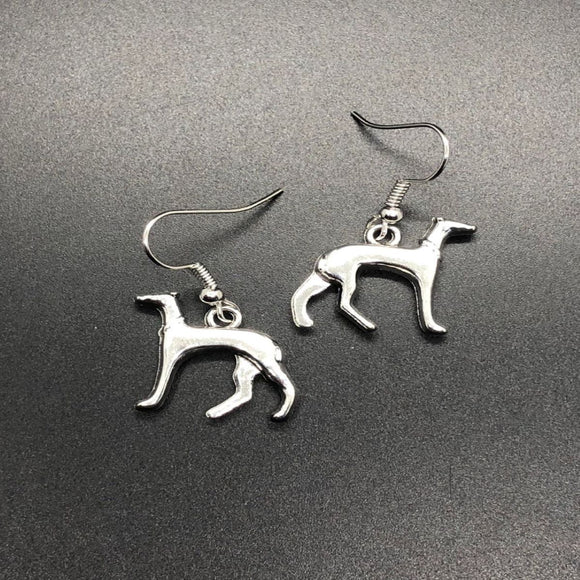 Greyhund Earrings, DOG EARRING