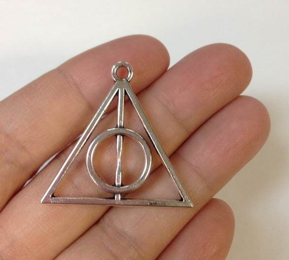 10pcs Harry Potter Deathly Hallows Charm