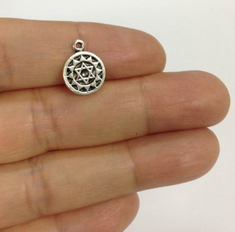 yoga charm wholesale meditation charm