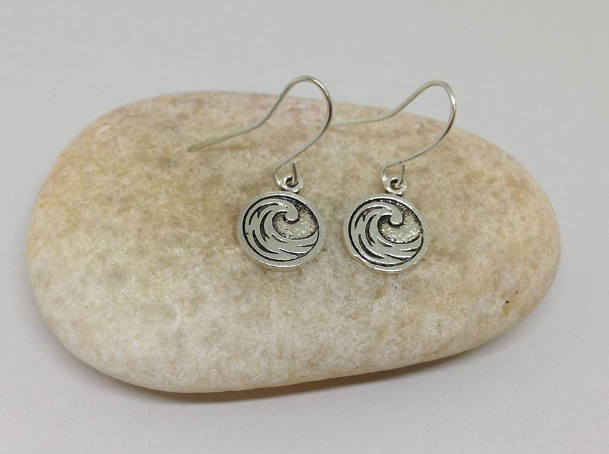 Tiny Celtic Knots Charm Meditation Earrings