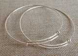 wholesale kid size Expandable Bangles silver bangles