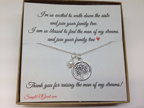 Mother of The Groom Gift, Wedding Gift, Gift from Bride