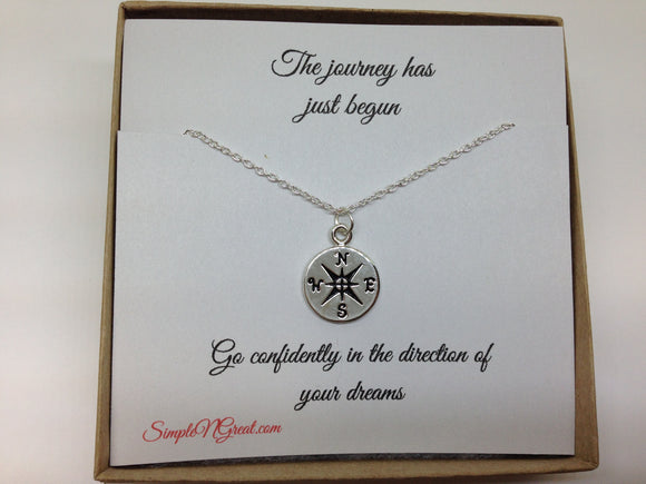 The Journey Has Just Begun Go Confidently In The Direction of Your Dream Graduation Gift BFF