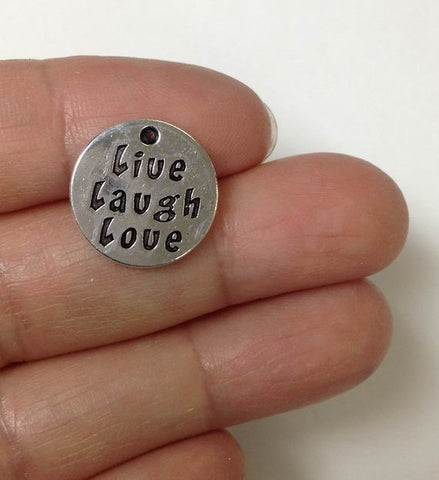 love live laugh message charm wholesale
