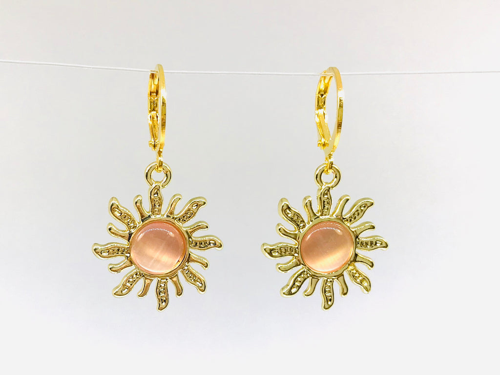 Wholesale Sun Earrings Novelty
