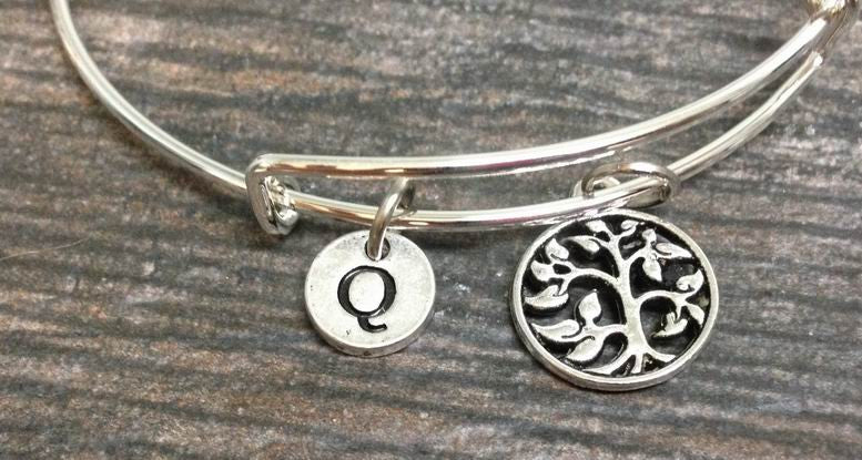 Tree of Life Bracelet, Tree of Life Bangle