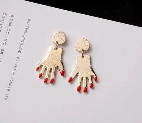 Hands Charm Earrings Wholesale