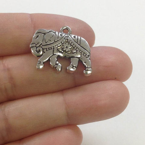 10 Elephant Charms Wholesale Lot