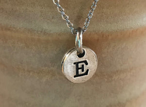 Initial Charm Personalized Necklace