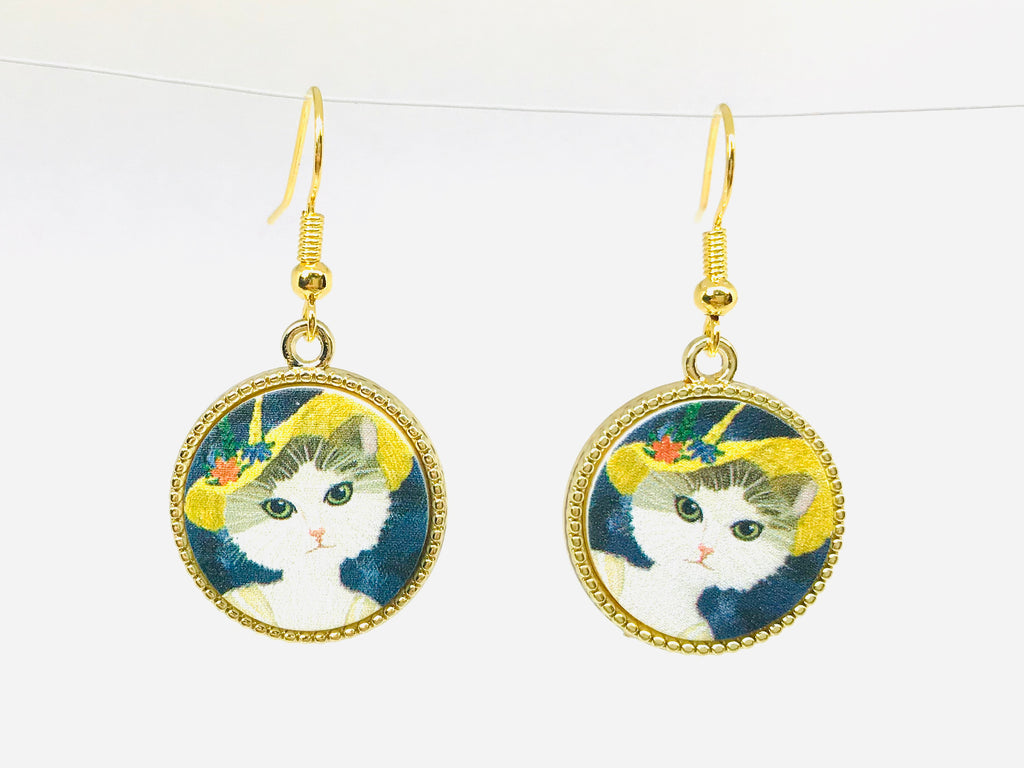 Kawaii Cat Earrings