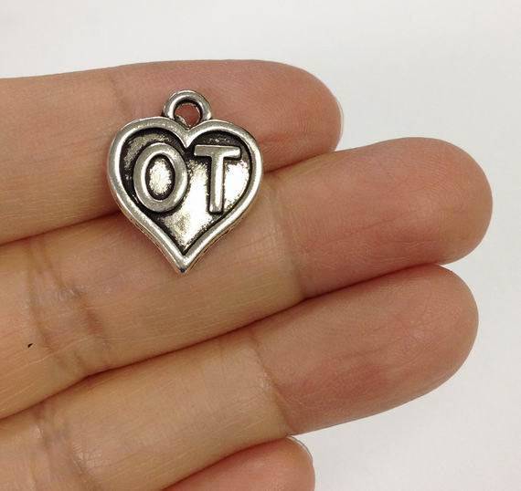 6 Occupational therapy Charm, OT charm, Medical Charm, Occupational therapists charm, Therapist charm, therapy charm