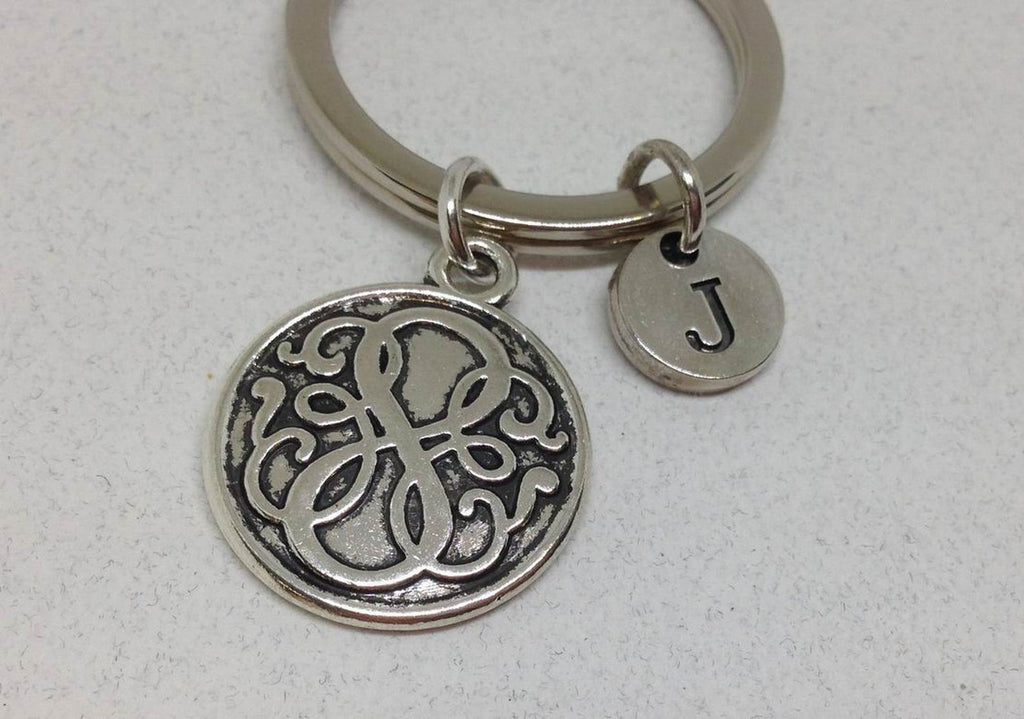 Path Of Life Keychain, Symbol Key Rings