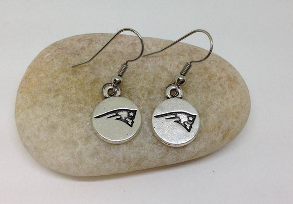 Patriots Earrings, football Team Earrings