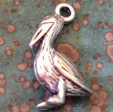10pcs Pelican Charms