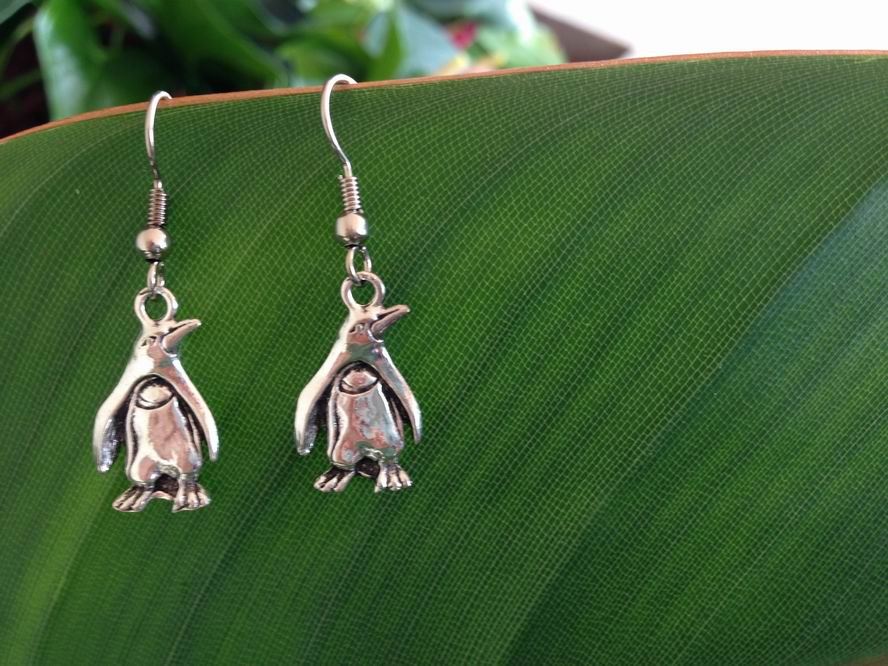 Penguin charm Earrings