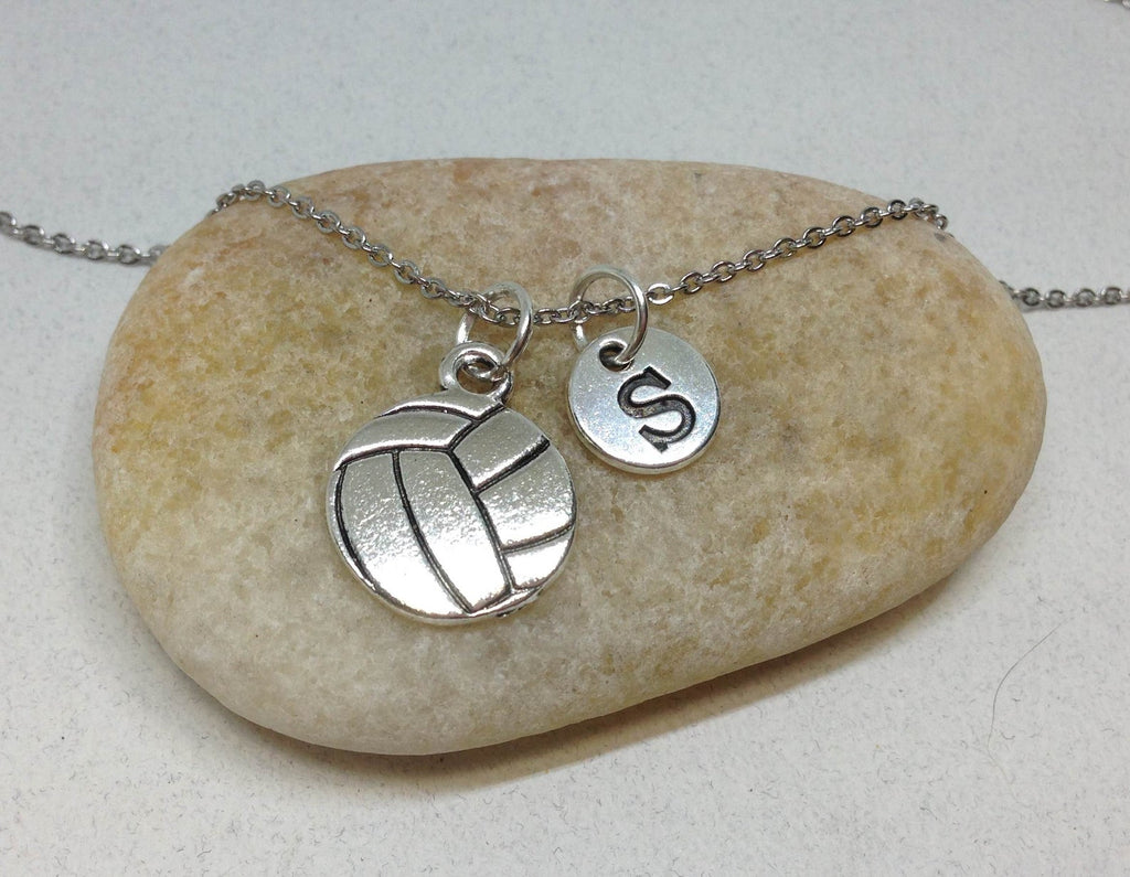 Volleyball Necklace, Personalized Team Necklace