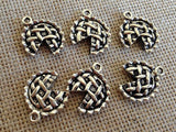 5 Apple Pie charm,  Pie Charms